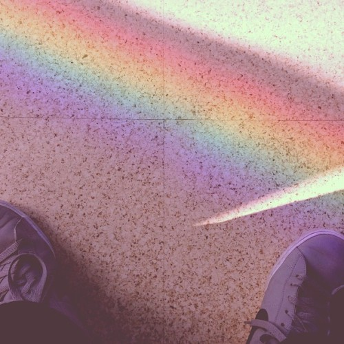 Catch the rainbow.