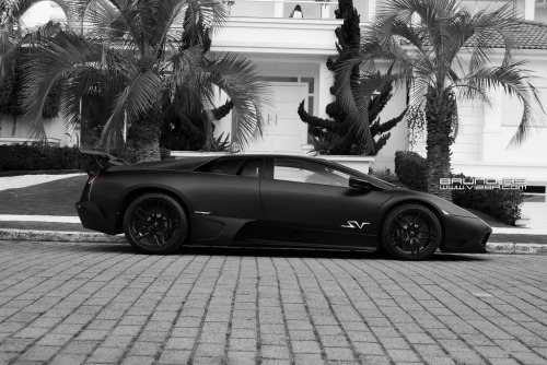 exclusive-pleasure:  fullthrottleauto:  Lamborghini Murcielago LP670-4 SuperVeloce (by Bruno Rs)  Unique SV in Brazil!