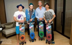 cloudn9ne5150:  RHCP Longboards