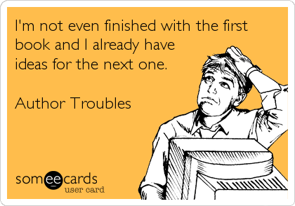 Too many stories to be told… #writerproblems