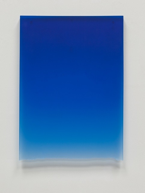 atavus:  Peter Alexander - Royal Blue Drip, 2011