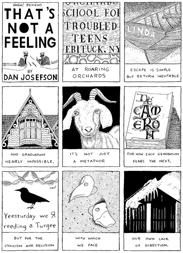Kevin Thomas presents HORN! REVIEWS: THAT'S NOT A FEELING by Dan Josefson