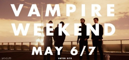 Vampire Weekend LP3 Out 5/6