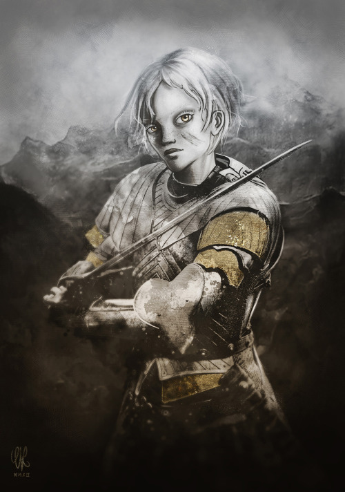 Brienne of Tarth (Game of Thrones fan art) http://artofevre.com
