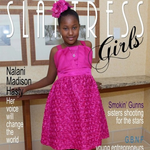 brianafierce:  Congrats Nalani Madison Hasty for being the very FIRST #CoverGirl for #SlantressGirls ! Don't miss this limited edition! Order today at www.Slantress.com ! Support Slantress Magazine!  #FG2G  #Slantress magazine! #GirlPower #BlackEmpowerment !