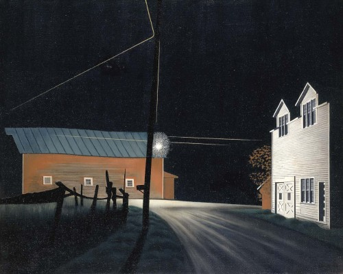 George Ault, Bright Light at Russell's Corners (1946)