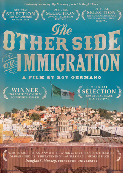 lachicaflaca:  THE OTHER SIDE OF IMMIGRATION directed by: Ray Germano executive producers: Conor Oberst, Team Love Records for more information visit their website: www.theothersideofimmigration.com (you can watch this documentary on Netflix or purchase it on www.othersideofimmigration.com website)