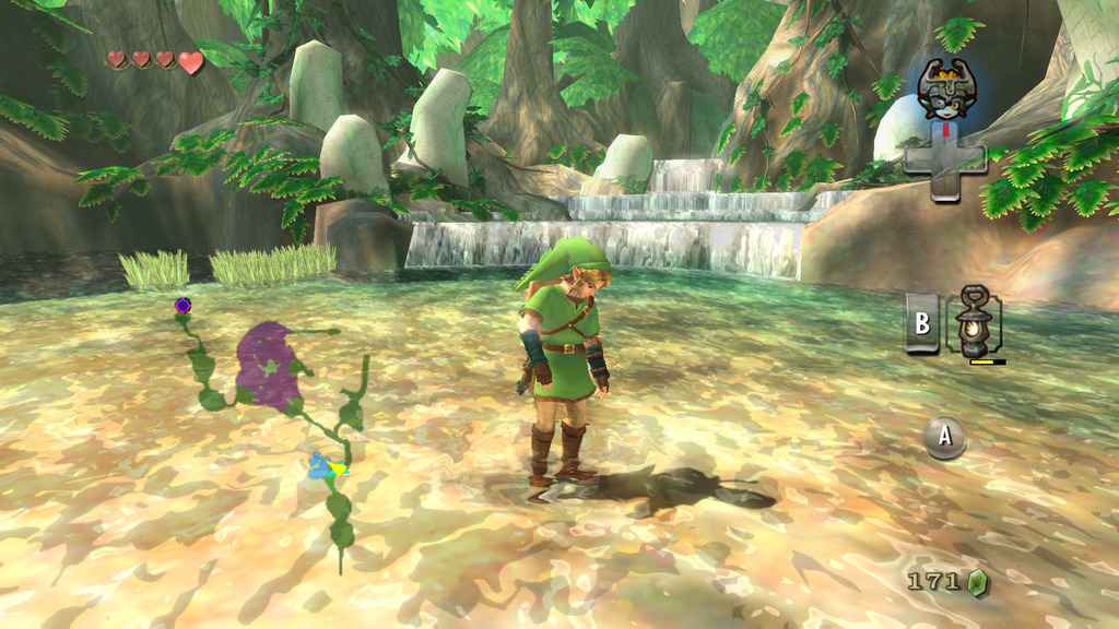 raverush:  Twilight Princess with Skyward Sword Graphics Project