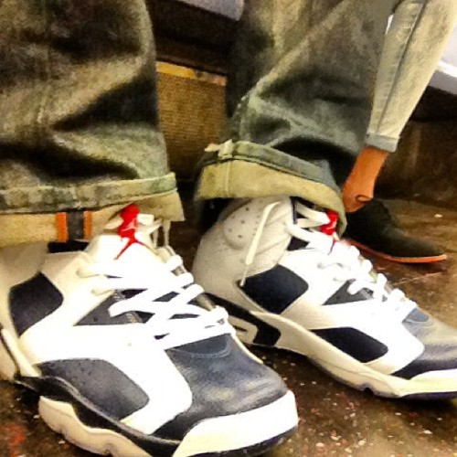 Nike Air Jordan VI Olympic Fresh season fresh kicks #SneakerNews #IGSneakerCommunity #Instakicks #WDYWT #SoleCollector #Kickstagram