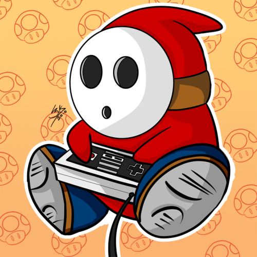 suppermariobroth:  Shy guy by *Locke3K
