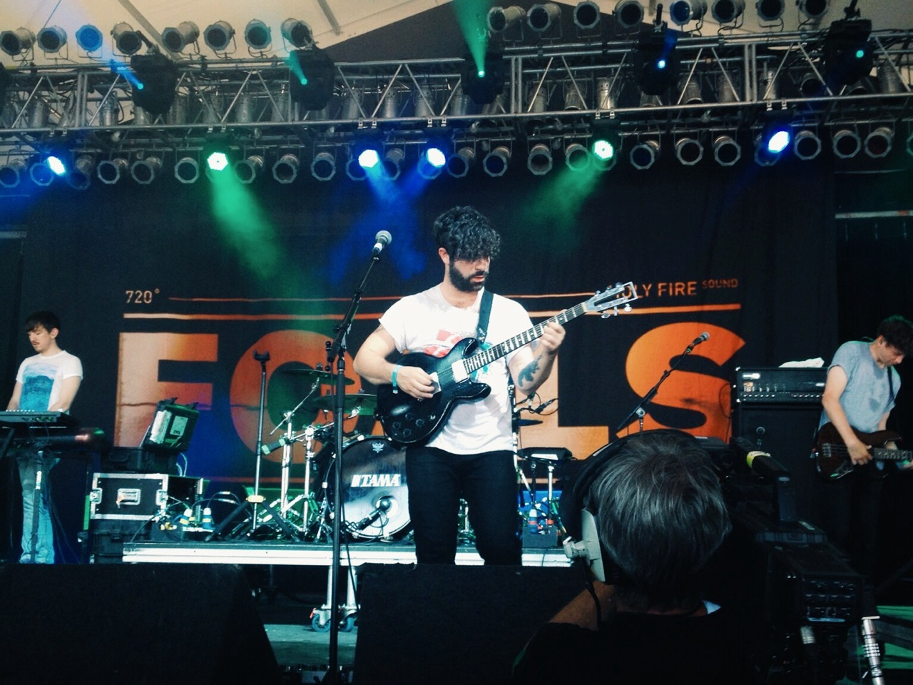 Foals at Bonnaroo 2013