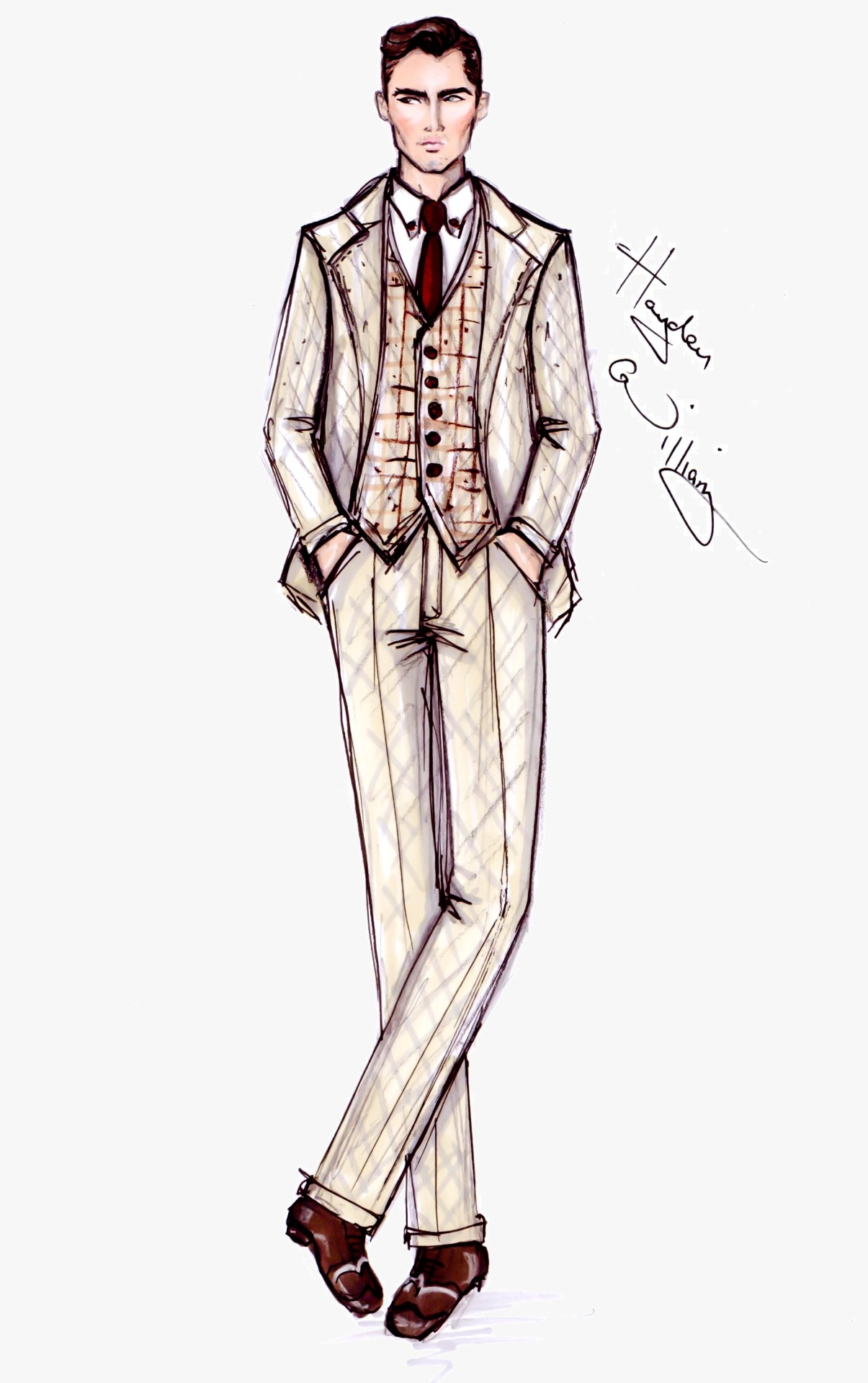 haydenwilliamsillustrations:  The Great Gatsby collection by Hayden Williams pt3