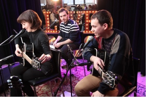 FLAVORPILL SESSIONS: Catch the last few minutes of Daughter perform LIVE!  Watch on Livestream