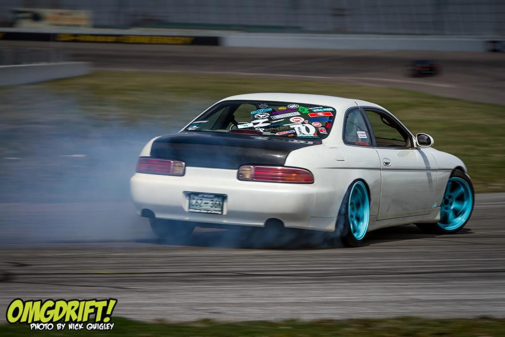 caenandabel:  OMGDrift!'s Nick Quigley catching the few laps i got out of the car before my weekend ended early due to motor issues.