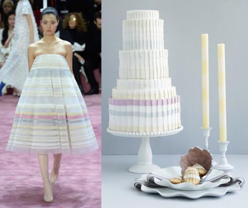 wedding cake runway fashion show design inspiration