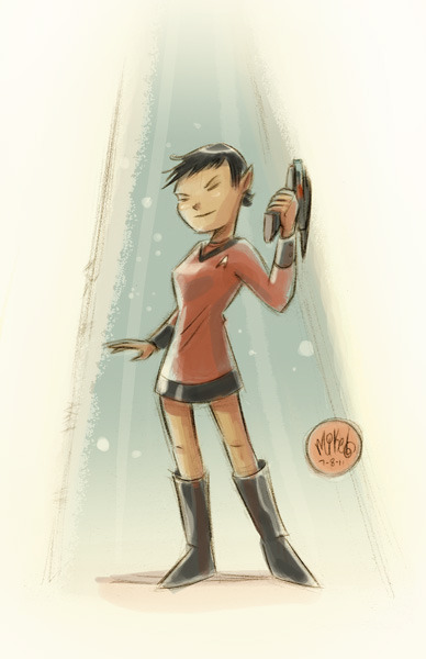 Trek Girl by *mikemaihack