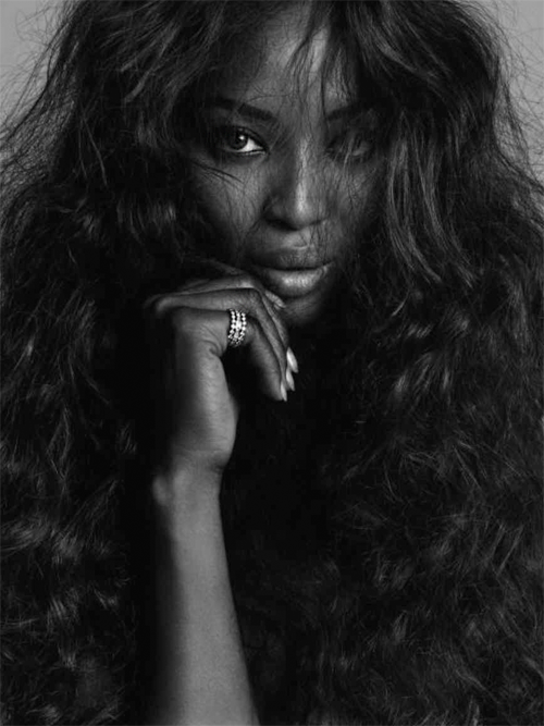 abigaildonaldson:  Naomi Campbell by Inez & Vinoodh for V Magazine #55 Sept/Oct 2008