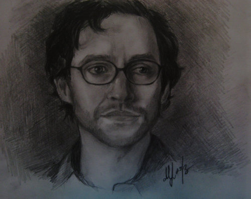 gwaine-lover:  Will Graham by ~Magic-is-in-youI wanted to draw Hugh for a very long time and finally did it, I draw him as Will Graham.