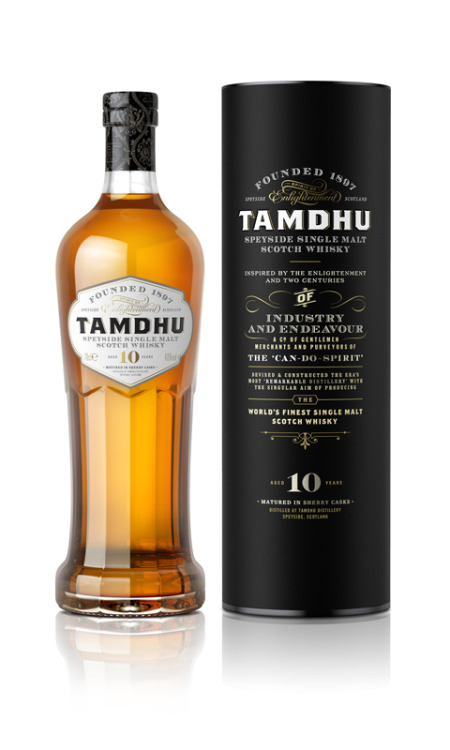 Tamdhu whisky is given new brand identity by Good