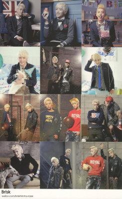 B.A.P. photos of their 2013 calendar! (scan) click to see all the CALENDAR PHOTOS click for more NEWS or KPOP