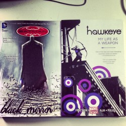 New comics: Batman - The Black Mirror | Hawkeye - My life as a weapon #comics #hawkeye #batman #marvel #dc #avengers #scottsnyder #davidaja