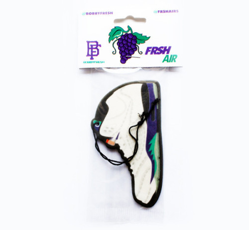 """Frsh Air Grape 5"" Air Freshener by BOBBY FRESH Available here for $8."