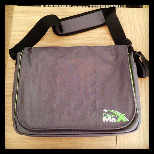 My new bag that I be taking to the #GadgetShowLive next week.
