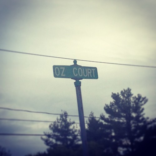 My new favorite street in Monsey.  (at Wesley Hills, NY)