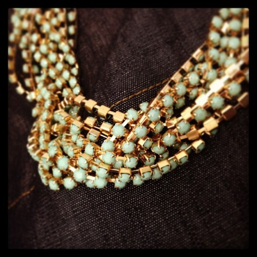 Our #sendthetrend vivid strand necklace is always a classic choice.  (at Send the Trend HQ)