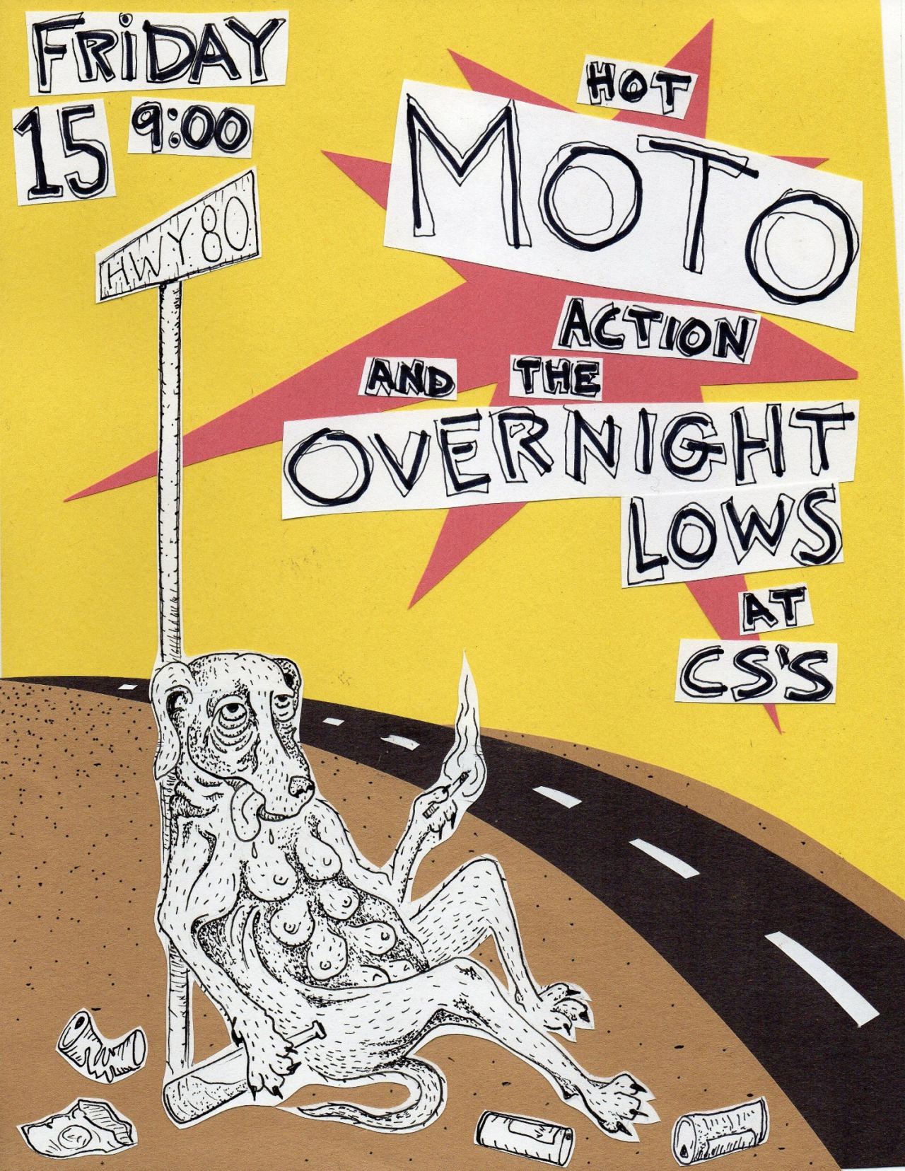 MOTO // OVERNIGHT LOWS // by MARSH NABORS