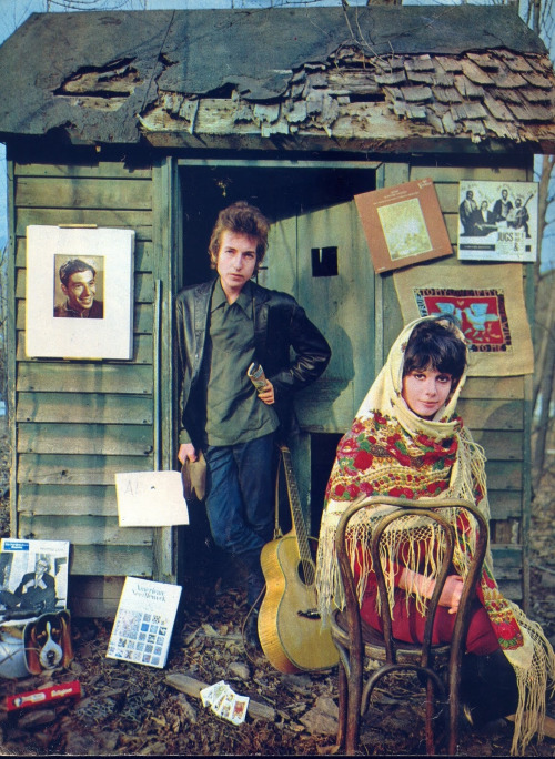theswinginsixties:  Bob Dylan and Sara Lownds