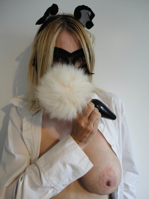 Tail &amp Mask #1 - Bunny Tail