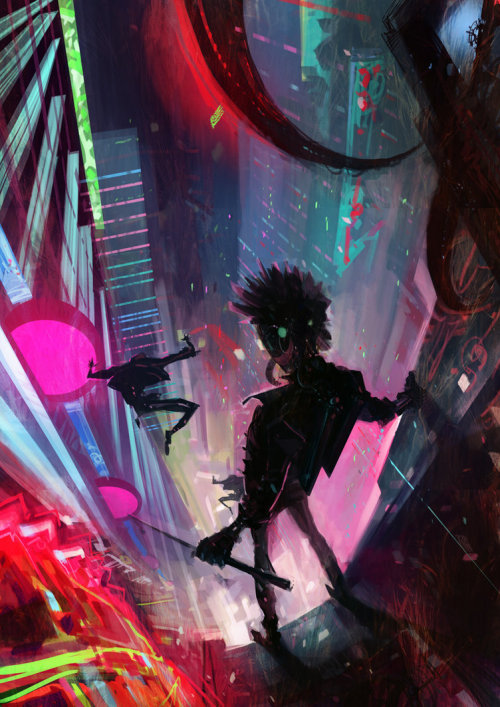 Amazing Cyberpunk artwork!!