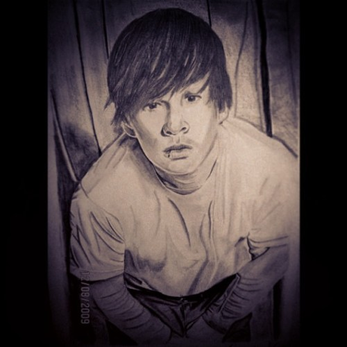Tom Delonge drawing.