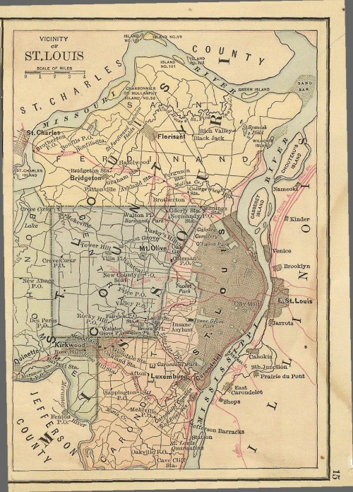 time-for-maps:  St Louis Area RR Map (1883)