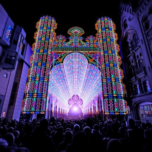 Ghent Light Festival - Belgium (via)