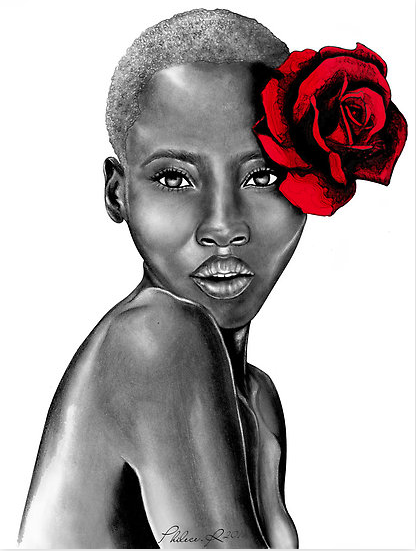 fuckyeablackart:  Uzuri ~ Red by Philece. R