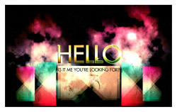 I just finished an 80's style design-Lionel Richie Hello, is it me you're looking for? Tutorial: http://www.gomediazine.com/tutorials/80s-style-design-photoshop/