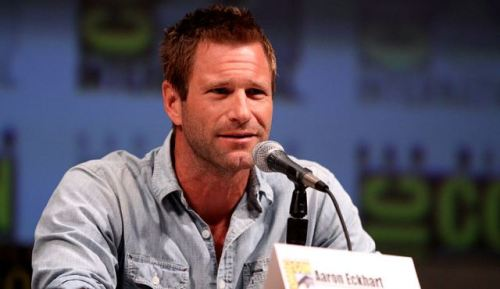 "First Look at Aaron Eckhart in ""I, Frankenstein"" The first official lenticular poster for I, Frankenstein just debuted at Cannes, showing Aaron Eckhart as Victor Frankenstein's creation Adam.  From the creators of the hit supernatural saga Underworld, the action thriller I, Frankenstein is based on the graphic novel of the same name by Kevin Grevioux. Check out the poster!"