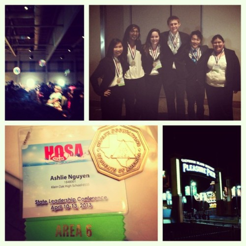 #HOSA #state #MRC partnership #first place #pleasure pier #Galveston #beach balls #KOHS