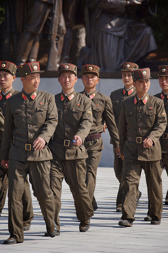 "North Korea nuclear test: Pyongyang threatens 'stronger response' | The Guardian By Justin McCurry and Tania Branigan In October 2012, a spokesman from the North's national defence commission told state media the country had built a missile capable of striking the US but did not provide further details. A missile featured in an April 2012 military parade appeared to be an intercontinental ballistic missile but its authenticity has not been verified by foreign experts. Daniel Pinkston of the International Crisis Group in Seoul said: ""The question is whether things could spiral. I agree there should be some costs and consequences, but as far as believing the consequences should deter them – I think that's wishful thinking. ""The [North Koreans] view the world as hostile and menacing; and if even China is hostile, then even more so. Other people might think OK, they will be more cautious and have second thoughts because even China will take action. But, from their point of view, it reaffirms why they need [a nuclear programme]. When the world is like this, do you not want to be a nuclear power?"" FULL ARTICLE (The Guardian) Photo: Joseph Ferris III/Flickr"