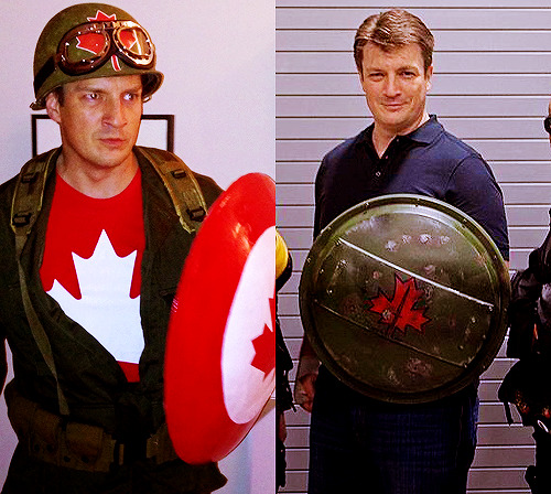 Captain Canada (Halloween 2012 & OttawaCC 2013)  This is why I love him!