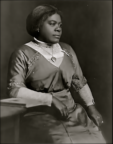 Today In History 'Mary McLeod Bethune, educator, civil rights leader, and founder of both Bethune-Cookman College and the National Council of Negro Women, was commemorated on a U.S. postage stamp on this date March 5, 1985.' (photo: Mary McLeod Bethune) - CARTER Magazine