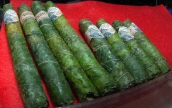 ashinkusher420:  bluntess:  carvexi:  Pure cannabis cigars, consisting of marajuana bud soaked in THC oil, then rolled in broad cannabis topleaf. The best  100000000%