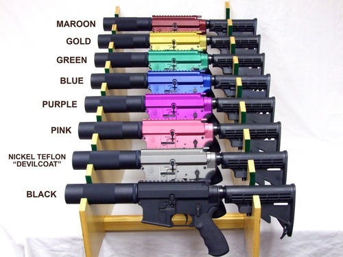 atac-wolfe:  moderatetosevere:  Rainbow guns set!! - Saw gunnermanlymans posted this, so I'm sure the Op is out there somewhere, but if he has no problem doing it to other people…  ^^^^ lmao