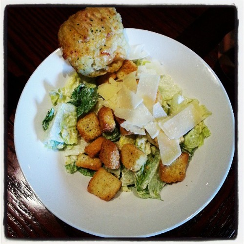 Biscuit & Salad #RedLobster