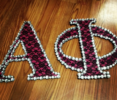 sororitysugar:  crafty AΦ ✿