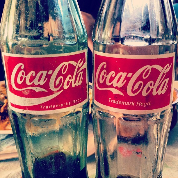 Drink #Coke in bottles. #oldschool