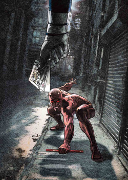 Daredevil vs. Bullseye by Alex Maleev