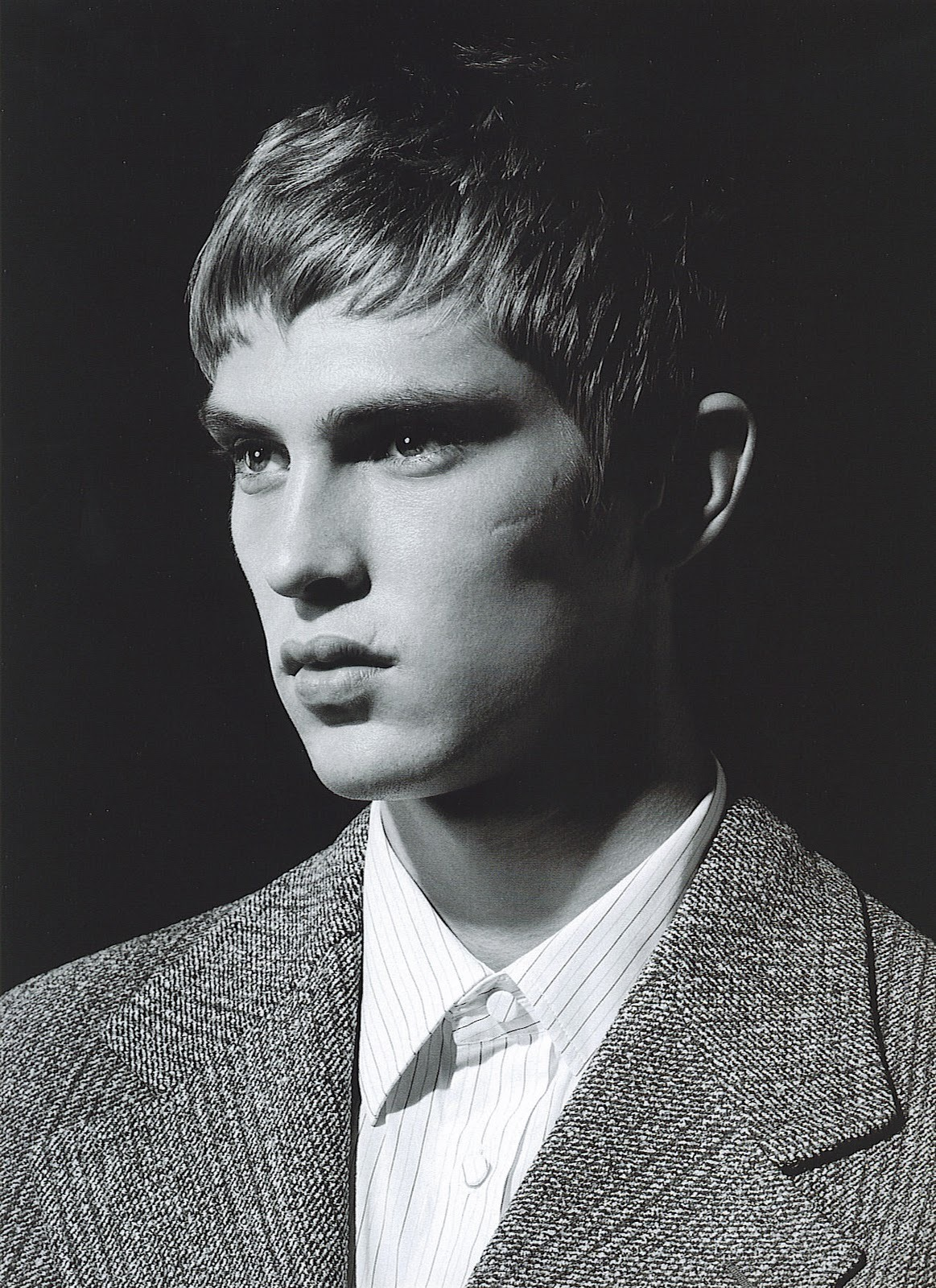 cocaineabuse:  Mathias Lauridsen for Arena Homme A/W 2004 Happy Birthday!